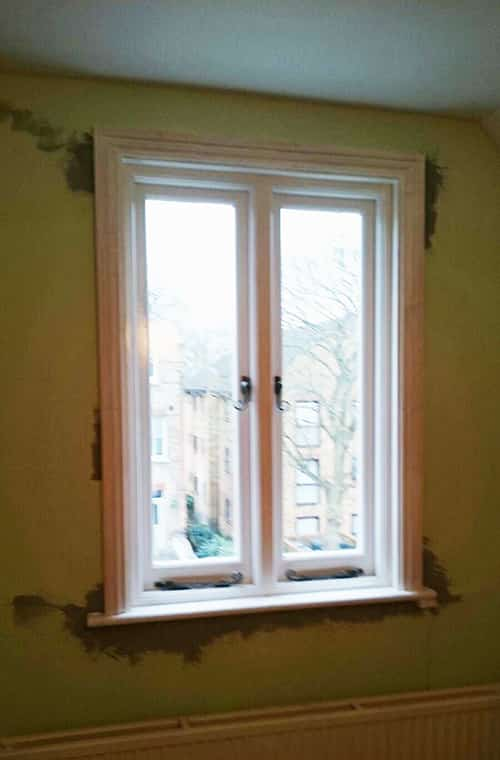 sash windows being installed in Greenwich by friendly local window experts